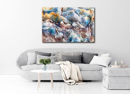 Photography by Oyster Art seen at Private Residence, Freeland - Harbinger ~ Photomacrographic Abstract Art