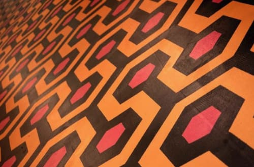 Tiles by Max E. Fresh seen at Private Residence, Atlanta - The Shining