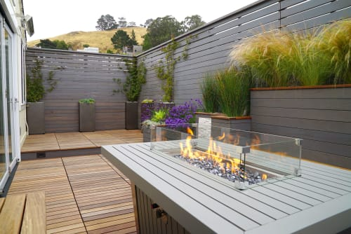 Architecture by RareField Design/Build seen at Private Residence, San Francisco - Bernal balcony
