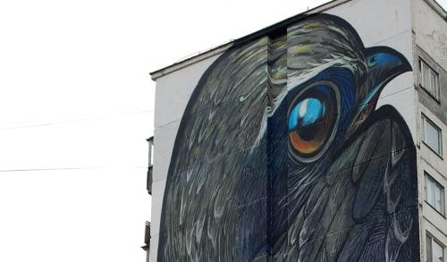 Street Art by Alex Maksiov - Murals and Art