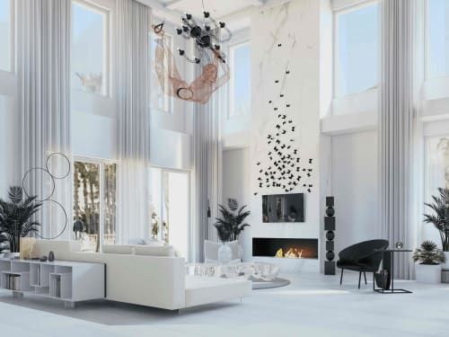 Interior Design by BRANA Designs seen at Private Residence, Los Angeles - Sophisticated Gem