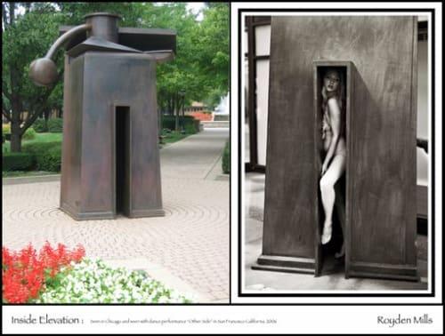 Public Sculptures by Royden Mills Professional Sculptor seen at Art Gallery of Alberta, Edmonton - Royden Mills
