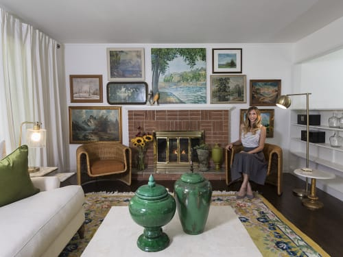 Interior Design by SugarKane seen at Phelps Grove Park, Springfield - Virginia House