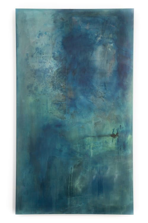 Paintings by El Lovaas seen at Creator's Studio, San Diego - Seek