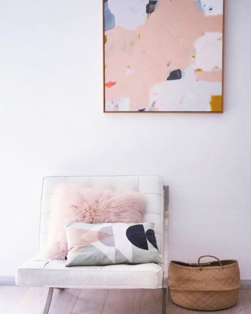 Paintings by Sarah Kelk seen at Private Residence, Perth - Abstract Painting
