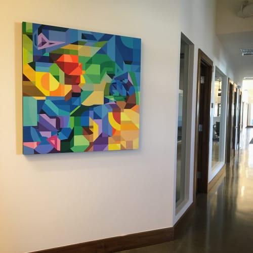 Art Curation by Moleiro Artwork at Büro Midtown, Miami - Tótem