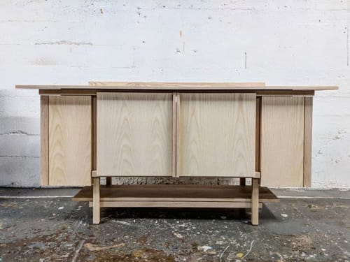 Furniture by Caliper Studio seen at 1654 Franklin St, Vancouver - Ash Credenza