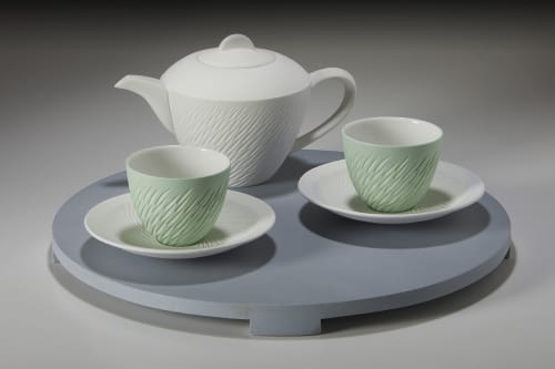 Interior Design by Sasha Wardell seen at Private Residence, London - Shoal Tea ware