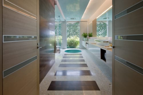 Interior Design by Michael Wolk Design Associates at Private Residence, Boca Raton - SOUTH FLORIDA RESIDENCE
