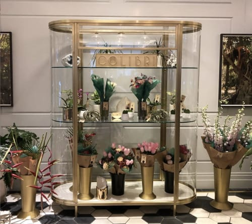 Floral Arrangements by Colibri seen at Woodlark, Portland - Woodlark Hotel
