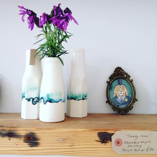 Vases & Vessels by Helen Rebecca Lucas seen at Private Residence, Brighton - Bottle Vases