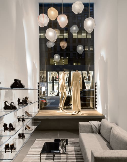 Pendants by Jeremy Maxwell Wintrebert seen at CALVIN KLEIN 205W39NYC, New York - Cloud