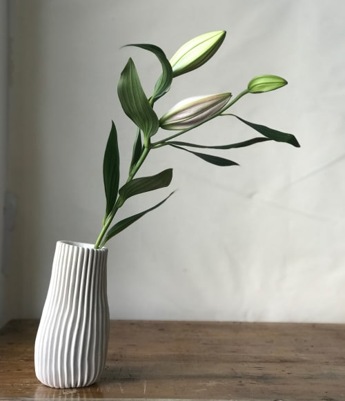 Vases & Vessels by Cym Warkov Ceramics at San Francisco, San Francisco - Organic Bottle Vase