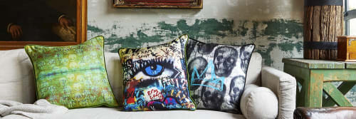 Crown Objet - Pillows and Rugs & Textiles