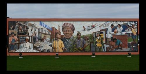 Michael Rosato - Street Murals and Murals