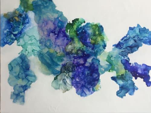 Paintings by Barbara Rubenstein - Blue Lagoon