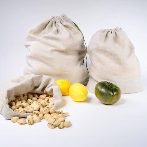 Apparel & Accessories by Rough Linen seen at Rough Linen, San Rafael - Linen Produce Bags