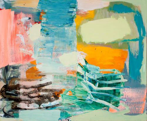 Paintings by Galen Cheney seen at Private Residence, New Canaan - Undertow