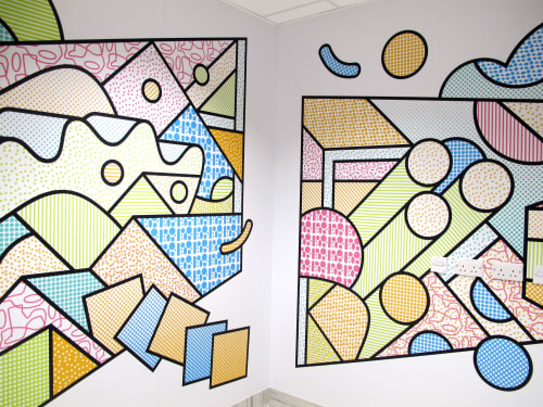 Murals by Supermundane | Rob Lowe seen at Great Ormond Street Hospital, London - Super GOSH