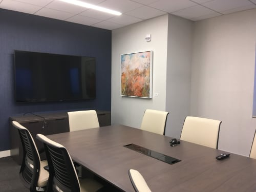 Interior Design by Art Solutions seen at Hartford, Hartford - Financial Institute, Hartford, CT