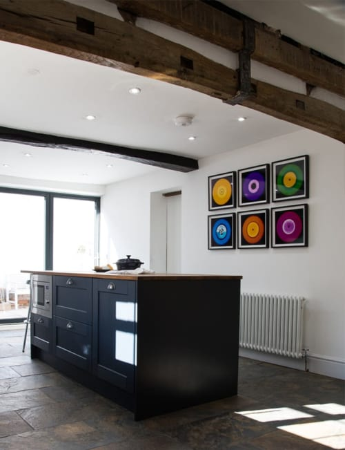Photography by Richard Heeps seen at Private Residence - Heidler & Heeps Vinyl Collection