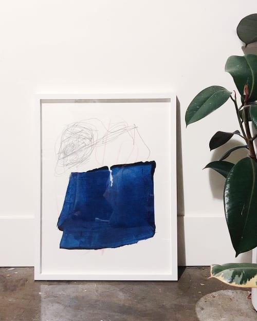 "Paintings by maja dlugolecki - work on paper, 18"" x 24"""