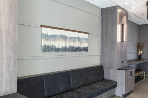 Wall Hangings by Lauren Williams seen at Chicago Marriott Schaumburg, Schaumburg - Commissioned Tapestries