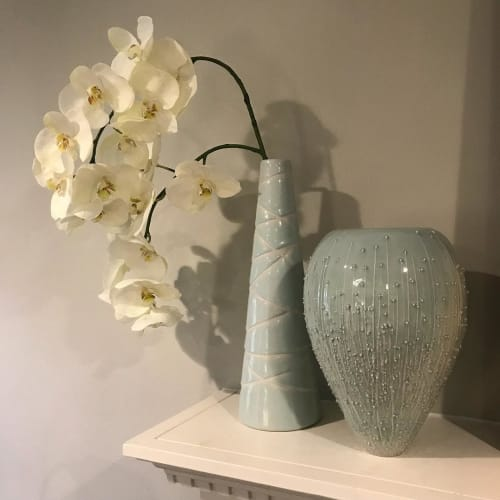 Vases & Vessels by Brooks Oliver seen at Private Residence, Dallas - vases