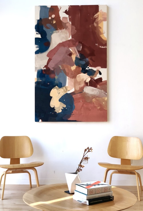 Paintings by Christine Cover seen at Private Residence, Kansas City - Botanical #1
