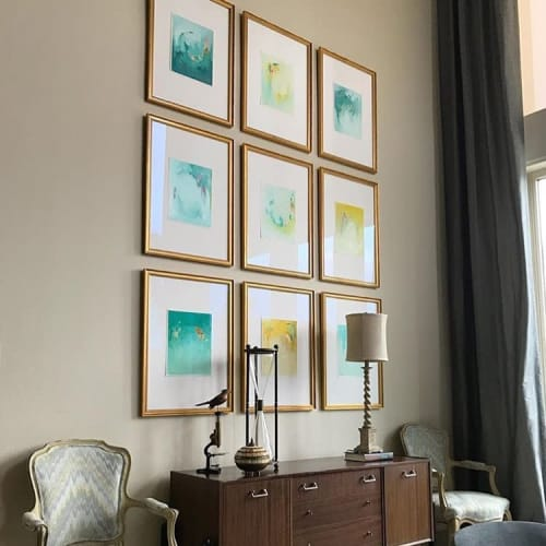 Paintings by Hillary Butler (Fine Art) seen at Private Residence, New Orleans - Commission Series