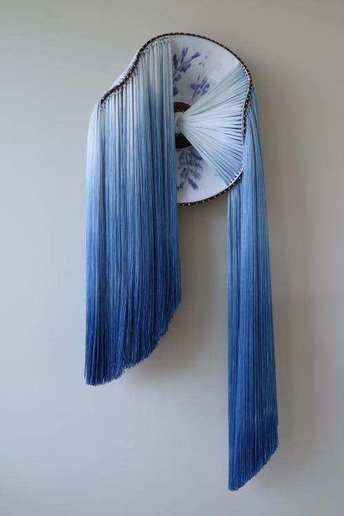 Wall Hangings by Nicole McLaughlin seen at Sherry Leedy Contemporary Art, Kansas City - Fuente de Vida- ceramic sculpture