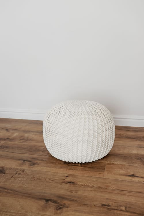Benches & Ottomans by Chasha Home seen at Private Residence, New Hyde Park - Pouf