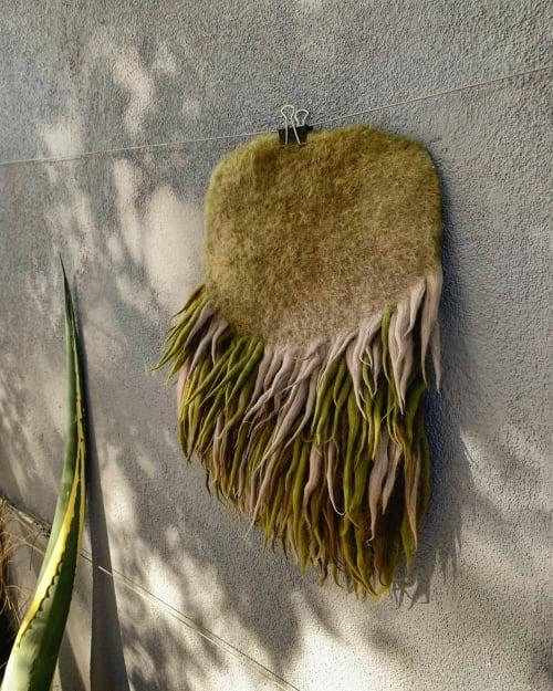 Wall Hangings by Taiana Giefer seen at Santa Barbara, Santa Barbara - Seed No.015: Green Juice