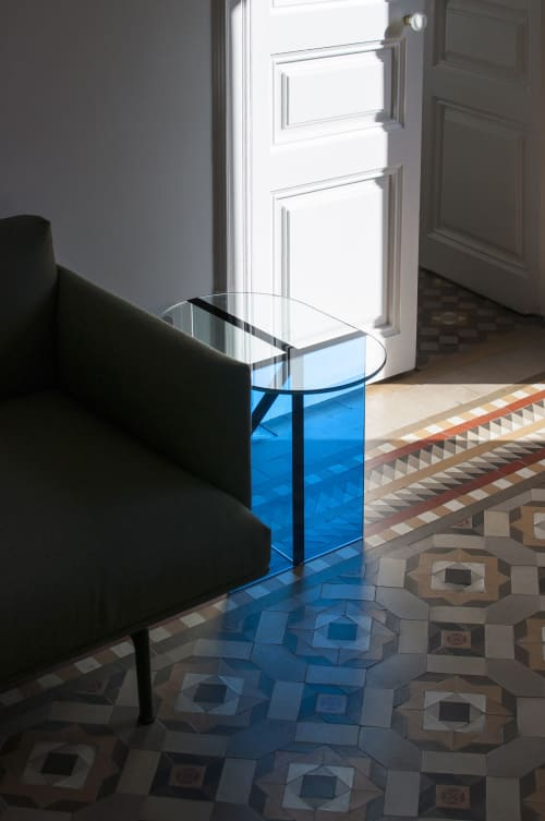 Tables by GOFI seen at Private Residence, Barcelona - Scarab