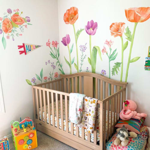 Art & Wall Decor by Mej Mej seen at Kim LaPlante - Dig and Hang - Flower Decals