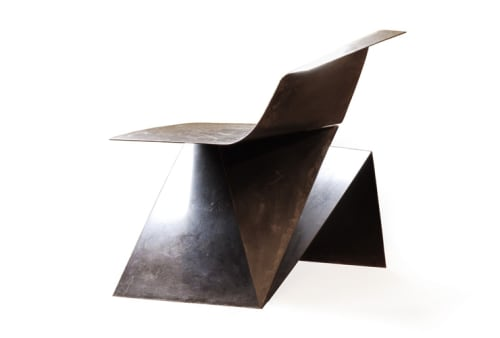 Chairs by Wolfson Design seen at London Studio, London - Origami Chair