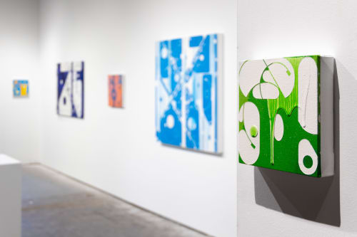Paintings by Studio Lee Albert Hill - SIGNS - Solo Show at CAMIBAart