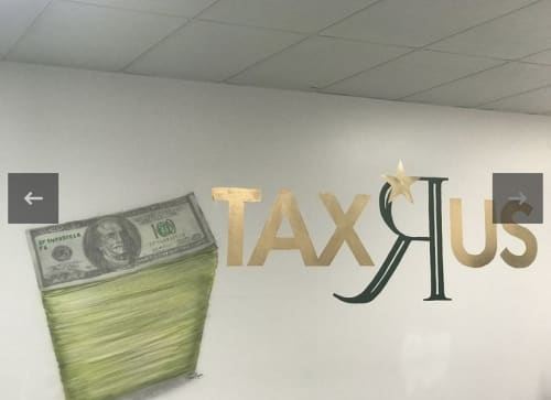 Murals by TerNan Art Production seen at Private Residence, College Park - Tax R Us Accounting