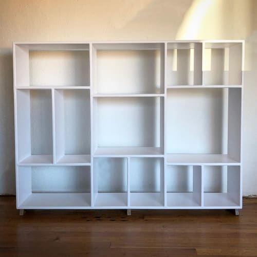 Furniture by Garage Goods seen at Private Residence, Portland - Custom Bookcase