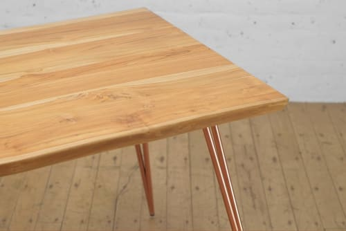 Kali Live Edge + Corvus Dining Table | Tables by From the Source