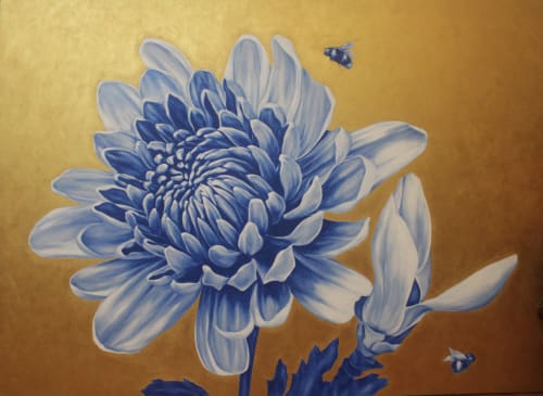 Paintings by Anna Murphy seen at Private Residence, Chicago - New Beginnings