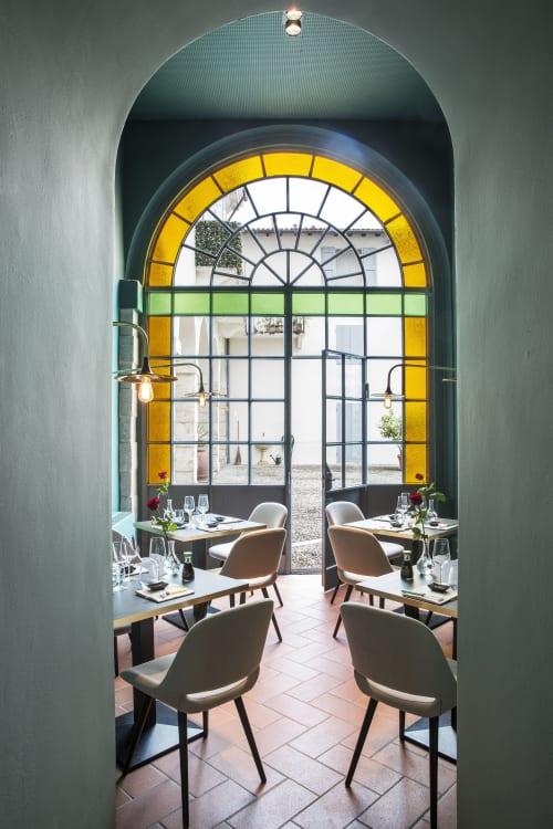 Interior Design by Pelizzari Studio seen at Brunati Sushi Restaurant, Salò - Brunati Japanese Restaurant