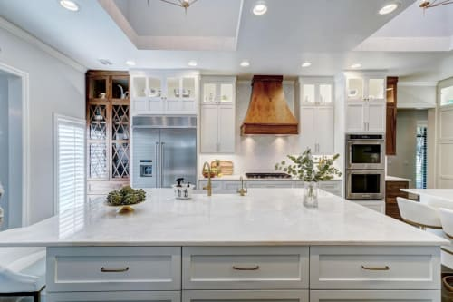 Interior Design by Design Directions- Valerie Helgeson seen at Private Residence, Oklahoma City - Complete kitchen design and remodel