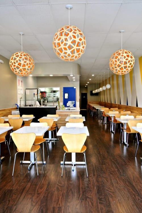 Interior Design by Urbanism Designs seen at Vons Chicken, Sunnyvale - Interior Design