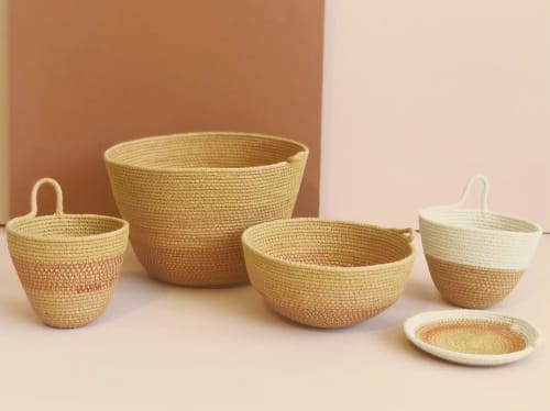 Tableware by MOkun seen at 1890 Bryant Street Studios, San Francisco - Rope Baskets