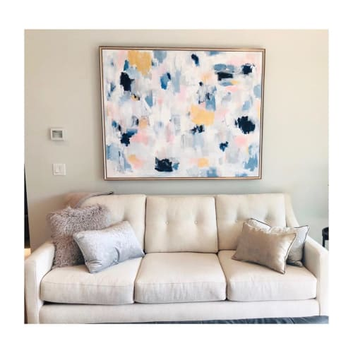 Paintings by Lauren Padian Art seen at Private Residence, Kansas City - Commissioned Painting