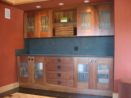 Furniture by Jason Lees Design seen at The Inn Above Tide, Sausalito - Custom Buffet