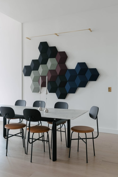 Appliances by Bang & Olufsen seen at Private Residence, Lower East Side, Manhattan, New York - Beosound Shape