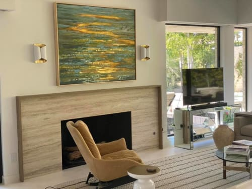 Paintings by Tania Dibbs seen at Private Residence, Palm Desert - Tania Dibbs