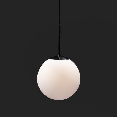 Franklin Globe Pendant Light | Pendants by Southern Lights Electric | Drug Store Coffee in Nashville